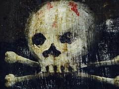 Detail Cross, Biserica SF. Nicolai Manea Brutaru (Miranda Ruiter) Tags: skull painting religion iconography church detail orthodox bucarest romania