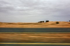 RX1A1059 - On the way (crimsonbelt) Tags: street travel motion nature landscape dubai desert