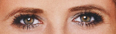 Sarah s  Eyes (Kanonenschlag) Tags: woman brown eye girl sarah star los pretty power angeles michelle hollywood horror buffy gellar vampir