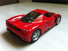 1/43 Ferrari enzo (Scuderia Phoenicia's Hobby and Die-cast models) Tags: red yellow grey model photoshoot ferrari collection enzo lamborghini lineup murcielago fabbri f50 143 minichamps fxx reventon hachette lp640 altaya 599xx