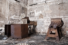 Grinder room (mmcad) Tags: abandoned buildings japanese scotland decay north group swedish storage company stevenson imperial alfred dynamite left peninsula chemicals derelict irvine explosives industries nobel troon ici ayrshire disrepair 1870 ardeer enterprises inabata