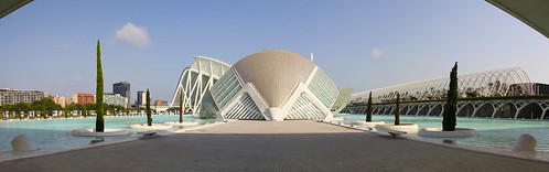 Valencia - City of Arts and Sciences 71 panorama