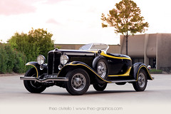 1932 Auburn V12 Boattail Speedster (www.Theo-Graphics.com) Tags: auto black classic cars car yellow america vintage boat texas auction tail houston auburn auctions speedster v12 boattail oquinn houstonweddingphotographer houstonweddingphotography theocivitello houstonautomotivephotographer houstonautomotivephotography theographics httpwwwtheographicscom houstonautomotivephotograper