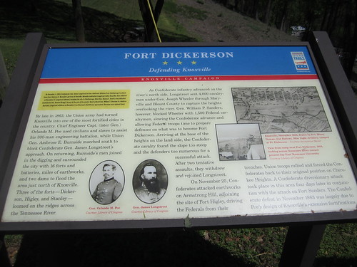 Fort Dickerson, Knoxville, TN