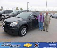 Crossroads Chevrolet Cadillac Joplin Missouri Customer Reviews and Testimonials - Luecritia Haraughty (Crossroads Chevrolet Cadillac) Tags: new chevrolet car sedan truck wagon happy pickup cadillac mo used vehicles chevy missouri bday van minivan suv crossroads luxury coupe dealership caddy joplin shoutouts hatchback dealer customers 4dr 2dr preowned