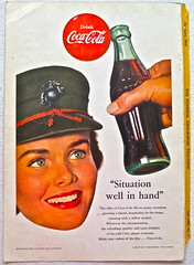 1953 - 1950s Vintage Coca Cola Advertisement From National Geographic Back Page 34 (Christian Montone) Tags: vintage ads advertising coke americana soda cocacola advertisements sodapop vintageads vintageadvert