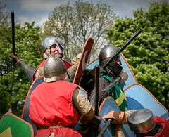 Captured (S.R.Murphy) Tags: uk heritage history derbyshire may battle englishheritage bolsovercastle 2013 canon24105 canon6d lightroom4 niksilverefexpro2 bolsolver