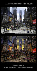 New York State of Mind (Before and After) (Kris Kros) Tags: new york mars photoshop square de state jesus mind kris times obra hdr masterpiece kkg maestra photomatix kros kriskros newyorkstateofmind hdrunleashed