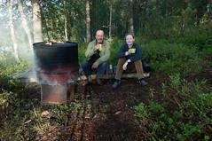 Brochet au barbecue (Samuel Raison) Tags: nature finland reindeer mouse fishing nikon mice barbecue pike souris barque renne pche finlande brochet nikond2xs nikond3 nikon41635mmafsgvr