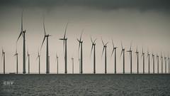 Ijsselmeerkust (Boudewijn Vermeulen) Tags: water windmill wind horizon zee ijsselmeer windenergy urk kust windmolens windenergie vervuiling duurzaam ecologisch publ