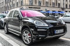 Poland (Warsaw-Praga Poludnie) - Porsche 957 Cayenne Turbo (PrincepsLS) Tags: poland polish license plate wf warsaw warszawa praga poludnie germany berlin spotting porsche 957 cayenne turbo