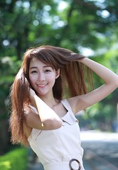 DP1U6191 (c0466art) Tags: lovely cute pretty university taiwan girl  beautiful eyes figure slim long hair sweet smile nextdoor kind charming gorgeous out door portrait light canon 1dx c0466art