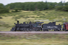 487 Heading to Chama (jterry618) Tags: 282 baldwin1925 cts487 ctstrain215 chama cumbrestoltecscenicrailroad drgw487 denverriograndewestern highway17crossing k36 newmexico rioarribacounty unitedstates us steamlocomotive railroad steamengine steamtrain scenicrailroad touristtrain heritagerailroad