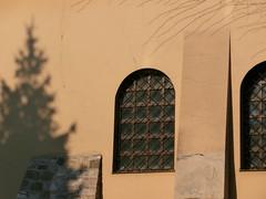 Sinagoga Poppera, Cracovia (dokusha.san) Tags: polonia poland muro wall synagoga sinagoga poppera kazimierz cracovia krakow cracow