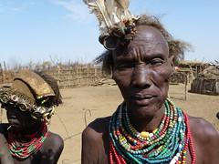 Daasanach tribe  (Ethiopia) (davidevarenni) Tags: ethipia etiopia tribe trib anziano old