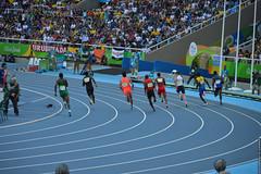 DSC_4834 (lenpereira) Tags: rio2016 olimpiadas2016 2016olympics atlestismo athletics running corrida nikond3200 olimpadas olympics atletas athletes 200m 200mrasos