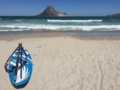 In spiaggia a Porto Taverna (StefanoDF) Tags: panorama digital photo wave sea view beach landscape sardegna
