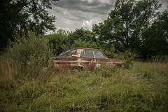 Fairlane Farm-23 (hiker083) Tags: abandoned farmhouse decay decrepit derelict cars vacant oncewashome