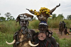 Mursi women (16) (Prof. Mortel) Tags: ethiopia omovalley mursi