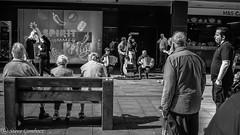 The audience is listening. (steve.gombocz) Tags: street monochrome greyscale olympus urbanstreet blacknwhite streetscene blackwhite whiteblack bwstreetscenes bw bwstreet flickrbw bwflickr blackwhitephotos blackwhitephotography flickrstreet blackwhitestreet bwstreetphotography streetlife blackandwhite streetscenes streetphotographs bwphotography streetbw blackandwhitestreet noiretblanc schwartzundweiss negroyblanco zwartwit neroebianco sortoghvid mustavalkoinen svarthvitt svartoghvitt svartochvitt czarnyibiaty pretoebranco noirblanc schwartzweiss negroblanco nerobianco pretobranco photosinblackandwhite flickrblackandwhitephotos newcastle newcastlebw newcastlemonochrome newcastlescenes newcastlephotographs newcastleblackandwhite olympusmzuiko25mmf18lens olympususers olympusdigitalcamerausers olympusbw micro43rdsuk olympuszuikodigitalclub olympusem5mark2 olympusm25mmf18 streetmusic music streetentertainment band audience streetaudience