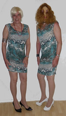 Dress from Morgan (Dafnetv) Tags: tv tranvestite
