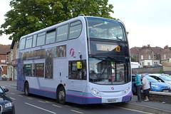 SN58CFV First Somerset and Avon 33550 (neiljennings51) Tags: bus psv pcv portishead somerset first avon alexander dennis enviro 400 x3