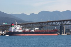 Yankul Silver (Stirrett6) Tags: burrardinlet cargo chemical oil ship tanker