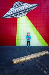 Alien Abduction (pantagrapher) Tags: archie mcphee seattle toy store kid child alien abduction ricoh grii