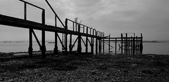 low tide (a.pierre4840) Tags: panasonic lumix gm1 14mm f25 seascape marine harbour hamworthy poole dorset england silhouette reflection