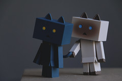 maoblue0 (here.heidin) Tags: danbo danboard nyanboard figures cat nyanbo