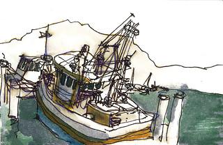 Broken Bay - Wagstaff Wharf 121014