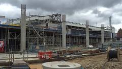 New Spurs ground taking shape, Tottenham, London, September 2016 (sbally1) Tags: whitehartlane tottenham spurs stadium premierleague thelane tottenhamhotspur london