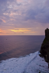 A fishin boat in sunset (A. Wee) Tags: bali indonesia   uluwatu cliff sunset