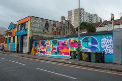 The people's republic of Stokes Croft..... (Dafydd Penguin) Tags: stokes croft bristol grafitti street art murals colour city centre urban grime west country banksy nikon d600 nikkor 28mm af f28d