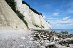Cliffs of Møn island (jarrowka ( )) Tags: møn island denmark dania wyspa mønisland wyspamøn scandinavia skandynawia shore cliffs cliff klify klif nature landscape seascape blue sky jarrowka