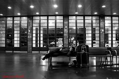 stazione1 (Giovanni Coccoli 75) Tags: street notturni vita poverta poveri barboni stazione ferroviaria messina riposo dormire ombre