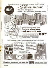 AD Slicks (File Photo Digital Archive) Tags: 1950s 1956 sears advertising vintage 50s adslicks indoor text illustration blackandwhite