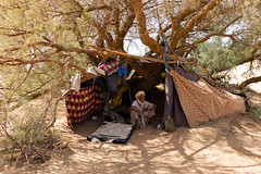 Desert Man - Bubradher (.sl.) Tags: maroc people portrait sahara berbre old man oldman tent tree desert morroco