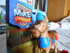 Galahad from Mike the Knight (ItalianToys) Tags: mike knight figure action il cavaliere horse galahad cavallo toy toys giocattolo giocattoli