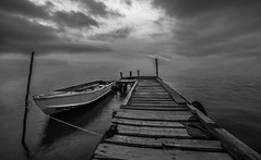 boat and clouds bn (robimurgia) Tags: art artistic beach beautiful boat bridge calm clouds essential gulf italy marina minimal nature naturephotography ocean park pond quiet relax sardegna sardinia sea sky tranquillity water