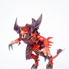 Tyranid Prime: Rending claws (Will Vale) Tags: 28mm 40k tyranidprime tyranidwarrior tyranid gamesworkshop tyranids wh40k scifi