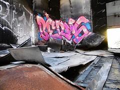 BERNS (Brin d'Amour) Tags: berns odv usine friche urbex graffiti brindamour
