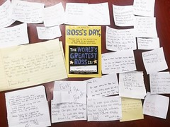 Wishing a happy National Boss Day to our president, Eli! Check out all of these little notes from the team! #olninc #boss #bossday #nationalbossday #bossesday #entrepreneur #appreciation #teamlove (oln_inc) Tags: oln inc carson ca los angeles