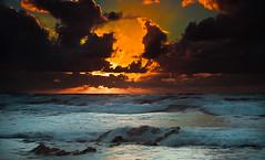 Sunset Spain (Marc ALMECIJA) Tags: 2010 582010 espagne euskadi sunset water sea sun mer soleil