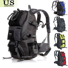 40/50L Outdoor Backpack Hiking Bag Camping Travel Waterproof Pack Mountaineering (wupplestravel) Tags: 4050l backpack camping hiking mountaineering outdoor pack travel waterproof