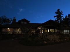 IMG_3398 Keweenaw Mountain Lodge at night (jgagnon63@yahoo.com) Tags: keweenawpeninsula keweenawcounty copperharbor coppercountry keweenawmountainlodge cccproject wpa night nightphotography historical historicalbuilding