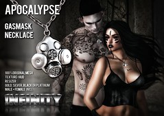 !NFINITY Apocalypse Gasmask Necklace (infinity.owner) Tags: nfinity apocalypse gasmask necklace original mesh jewelry accesoires tcr the crossroads event secondlife second life sl avatar