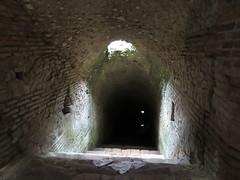 Albania - Durres - Amphitheatre - Tunnel leading to animal enclosure (JulesFoto) Tags: albania durres romanamphitheatre tunnel