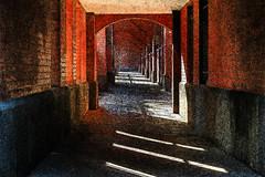 Magic hallway (Burminordlicht) Tags: lichtundschatten lightandshadow magic magiclight tunnel light shadows