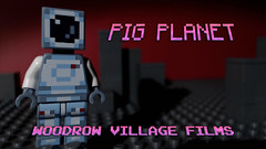 New brickfilm: https://youtu.be/mQWYseKR1Vc (woodrowvillage) Tags: lego minecraft minecrap woodrow village films animation pig planet moon mars outer space scifi mini figure minifigure photo future